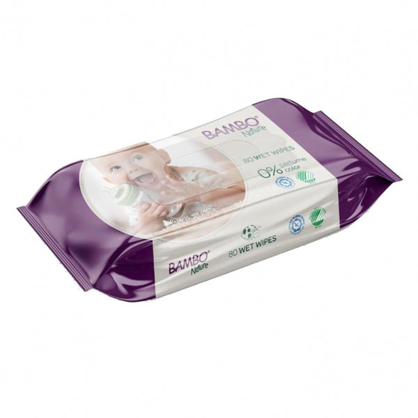 Bambo Nature Wipes x80