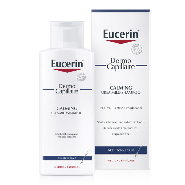 Capillaire Eucerin dermo soothing shampoo 250ml 5% Urea