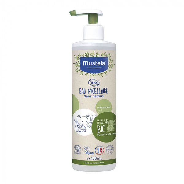 Mustela Bio Micellar Water No Perfume 400ml