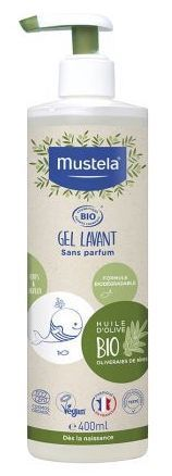 Mustela Bio Bath Gel No Perfume 400ml