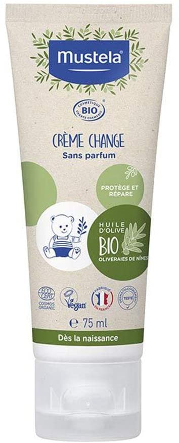 Mustela cream Bio Diaper Change No Perfume 75ml
