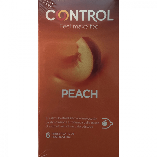 Control Peach X6 Condoms