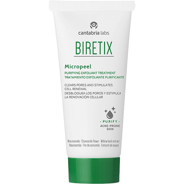 Biretix Micropeel Exfoliating Cream 50ml Purifying