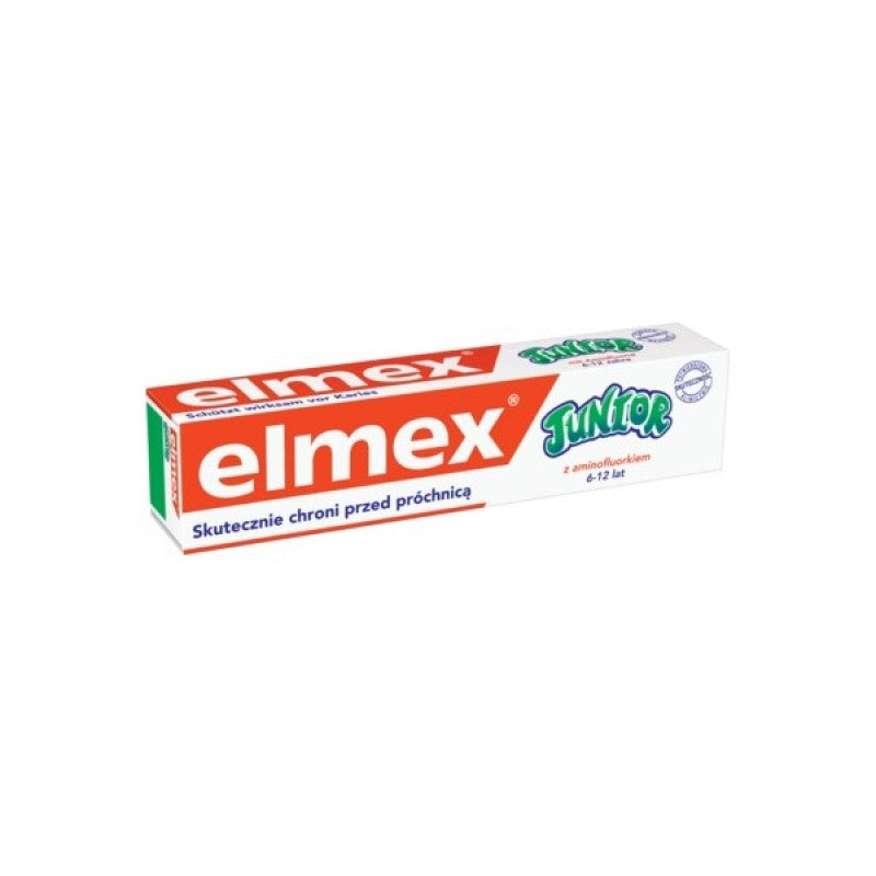 Elmex Junior Folder Teeth 75ml
