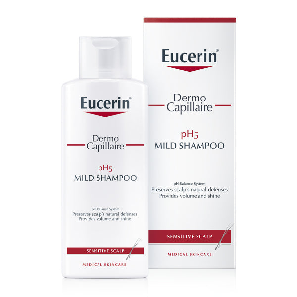Eucerin Dermo pH 5 250ml Gentle Shampoo Capillaire