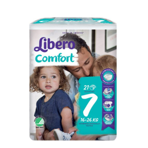 Diapers Libero Comfort Fit T7 XL 16-26Kg x21