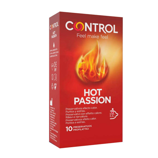 Control Hot Passion Condoms x10