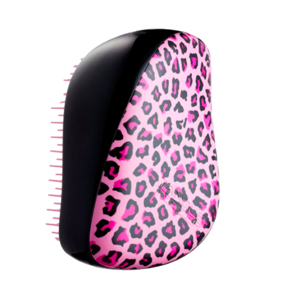 Tangle Teezer Compact hair brush Leopard Pink