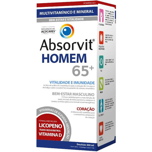 Absorvit Male 65+ Emulsion 300ml