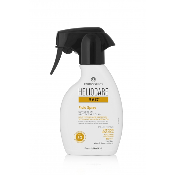 Heliocare 360 Fluid SPF50 Spray 250ml