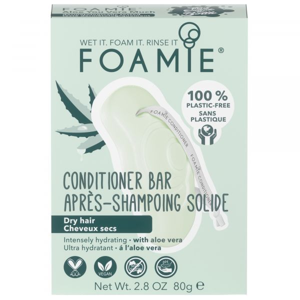 Foamie Solid Conditioner Aloe Vera 80G