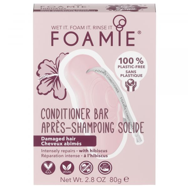 Foamie Conditioner Solid Hibiscus 80G
