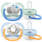Philips Avent Ultra Air Animals Animations Pacifiers 0-6m Boy X2