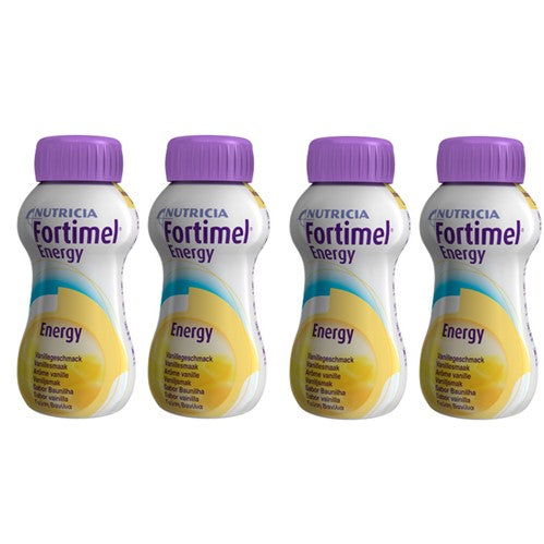 Fortimel Energy Solution Oral-Vanilla 200ml x4
