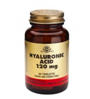 X30 Solgar Hyaluronic Acid Tablets