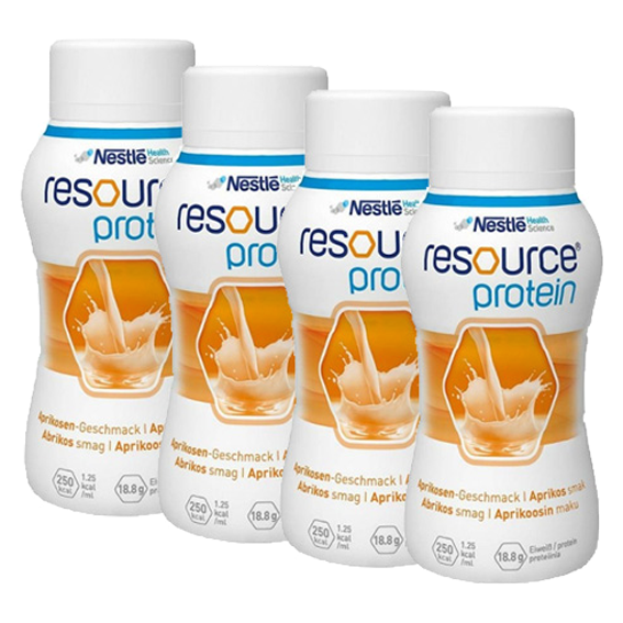 Protein Resource apricot 200ml x4