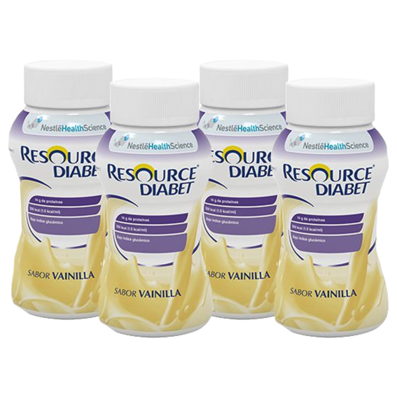 Nestle Resource Diabet Vanilla 200ml x4