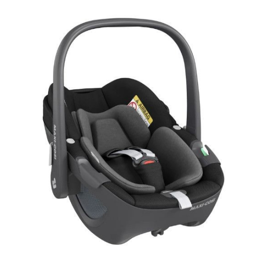 Maxi Cosi Pebble Chair Auto 360 Essential Black