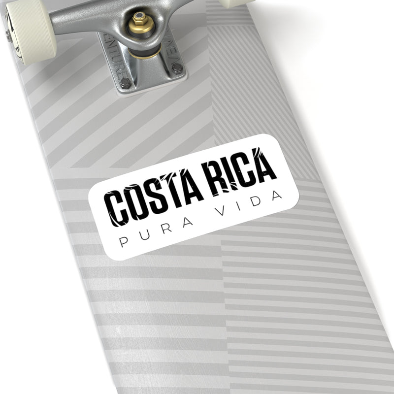 Costa Rica Die Cut Sticker