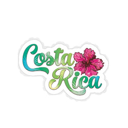 Costa Rica Die-Cut Sticker