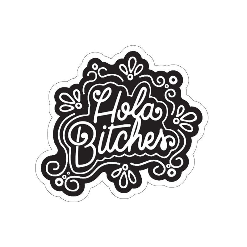 Hola..... Die-Cut Sticker