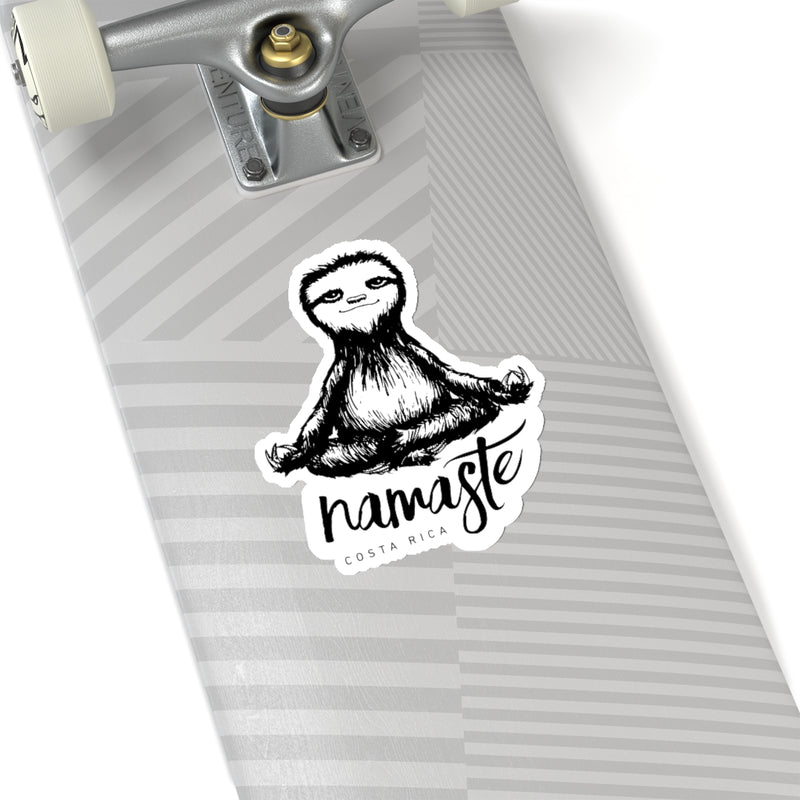Namaste Sloth Die-Cut Sticker
