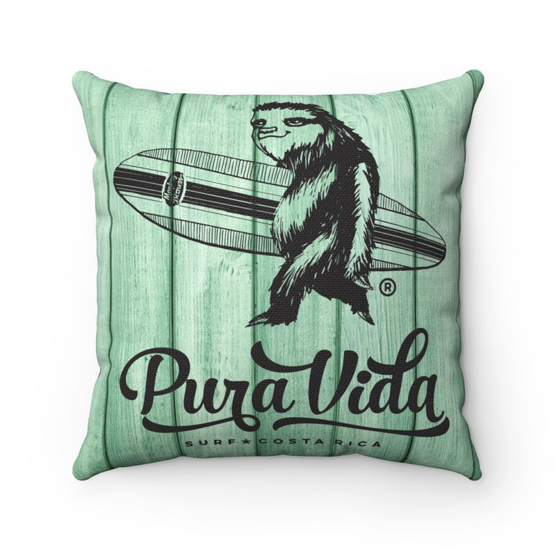 Surfing Sloth Pillow - Cover Only
