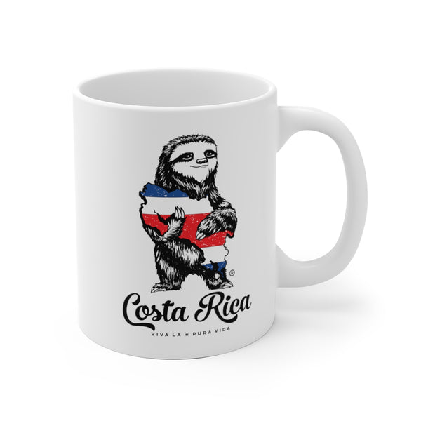 Costa Rica Sloth Ceramic Mug