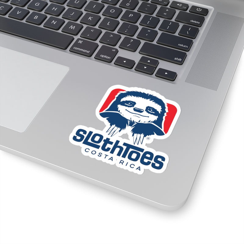 Sloth Toes Die-Cut Sticker - Stacked