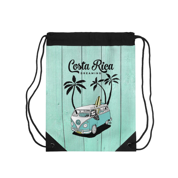 Costa Rica Dreaming Drawstring Bag