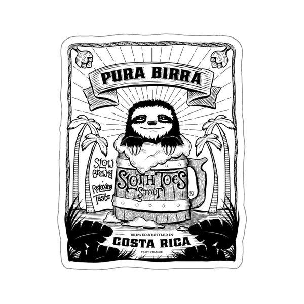 Pura Birra Die Cut Sticker