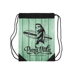 Surfer Sloth Drawstring Backpack