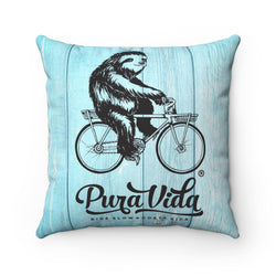 Ride Slow Pillow with Insert
