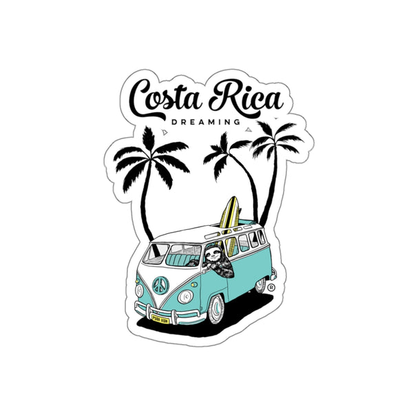 Costa Rica Dreaming Die Cut Sticker