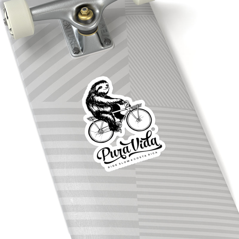 Ride Slow Die-Cut Sticker