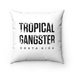 Tropical Gangster Pillow with Insert