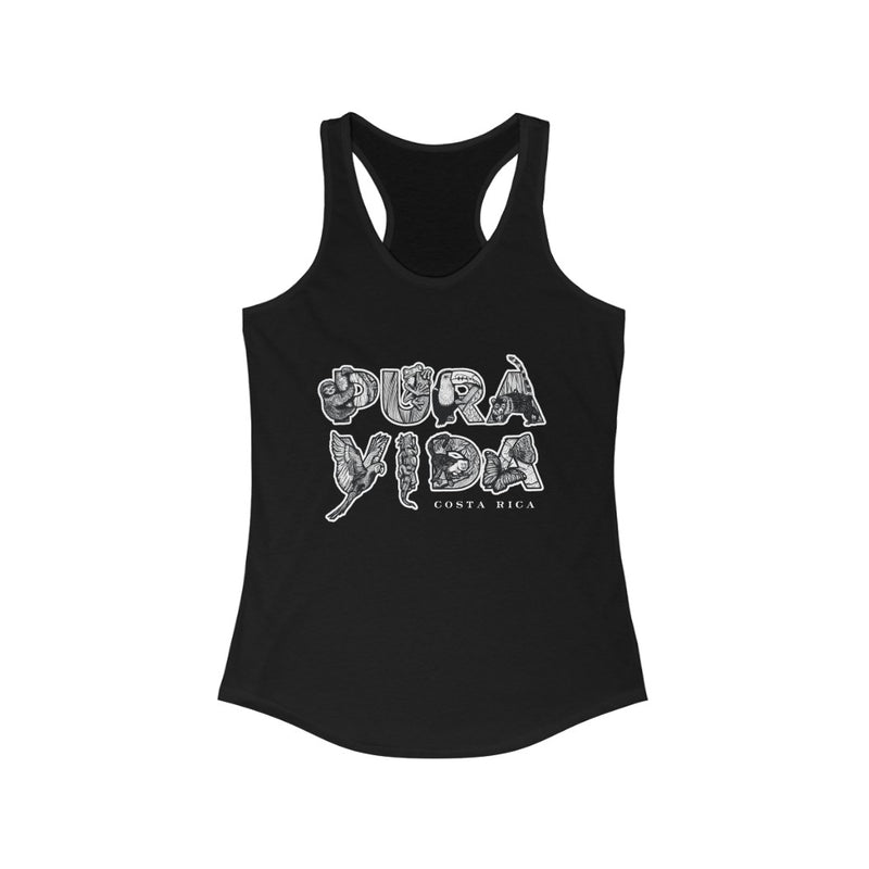 Pura Vida Animals Women's Racerback Tank