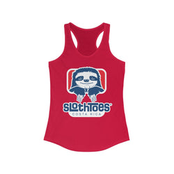 Sloth Toes Women's Racerback Tank