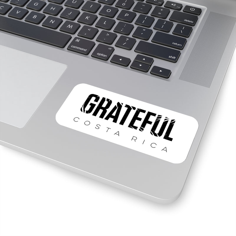 Grateful Die Cut Sticker