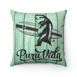 Surfing Sloth Pillow with Insert