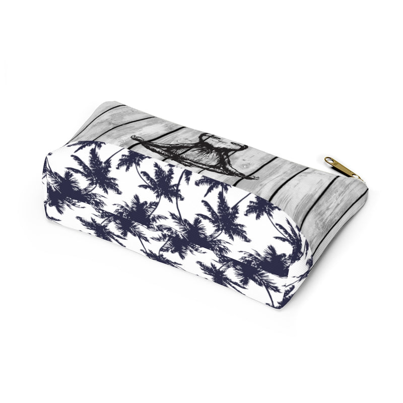 Blue Palm Namaste Cosmetic bag