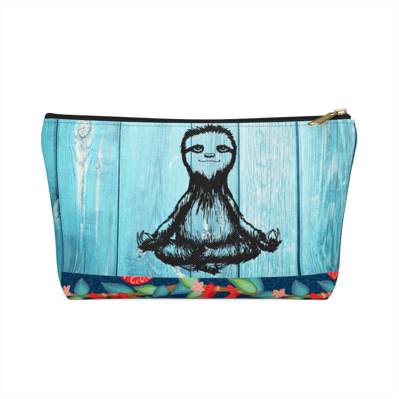 Sloth Namaste Cosmetic bag