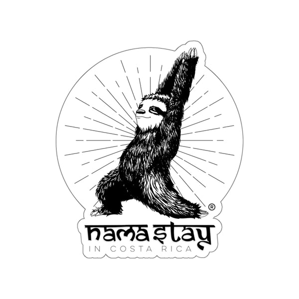 Nama'stay in Costa Rica Die Cut Sticker