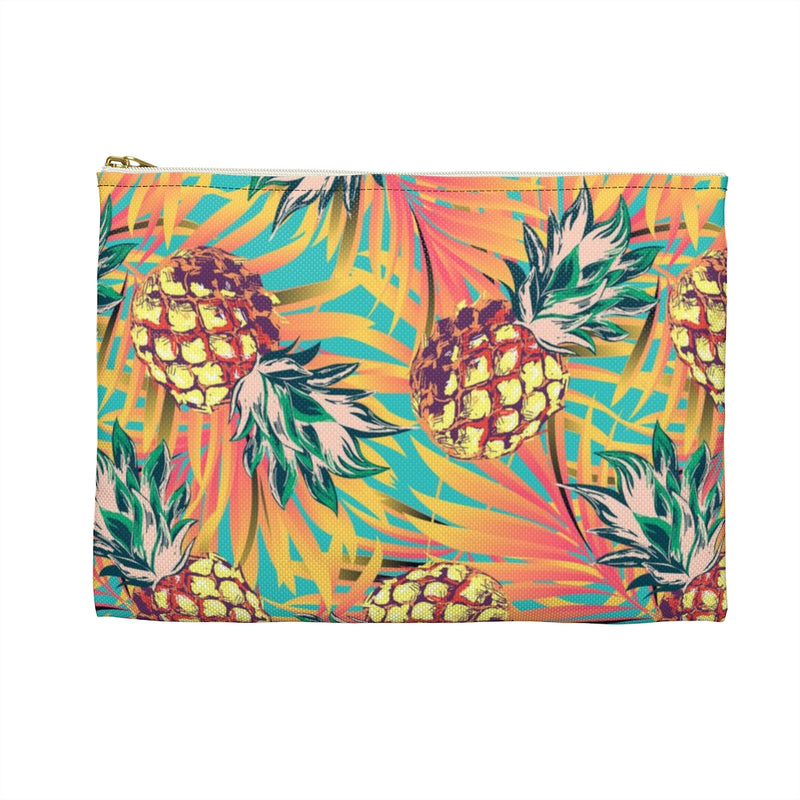Pineapple Pura Vida Accessory Pouch