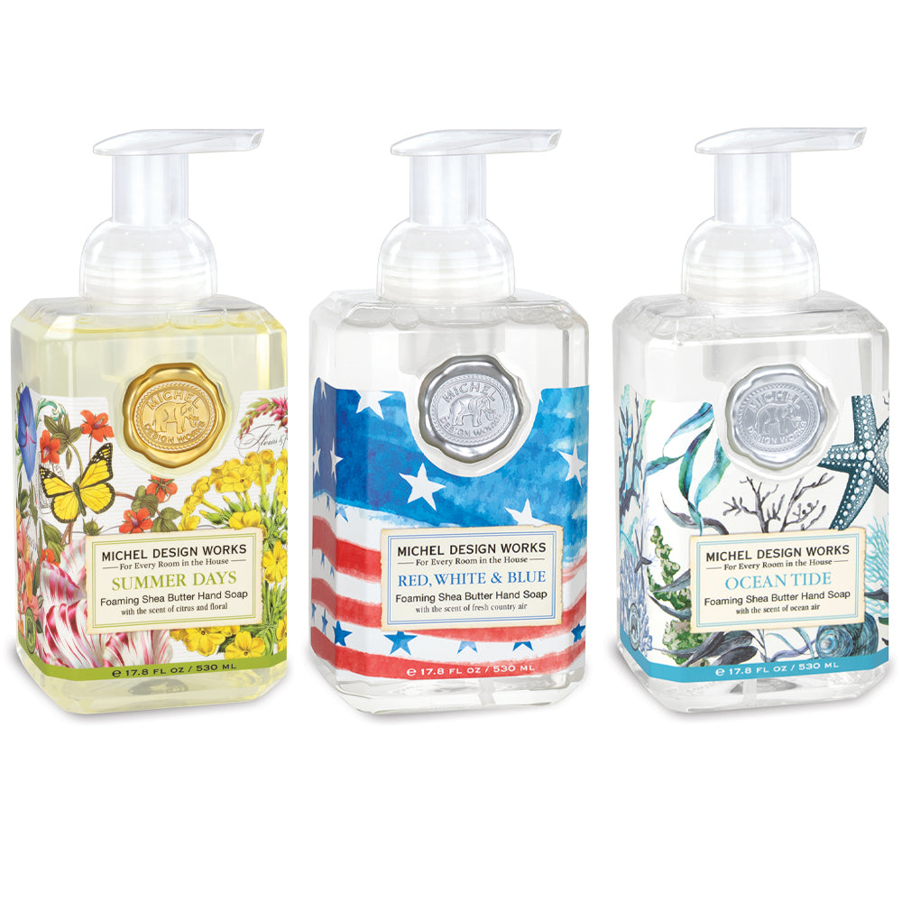 Limited Edition Summer Foaming Hand Soap 3 Pack