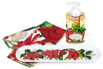 Christmas Time Serveware Hostess Set with Foaming Hand Soap