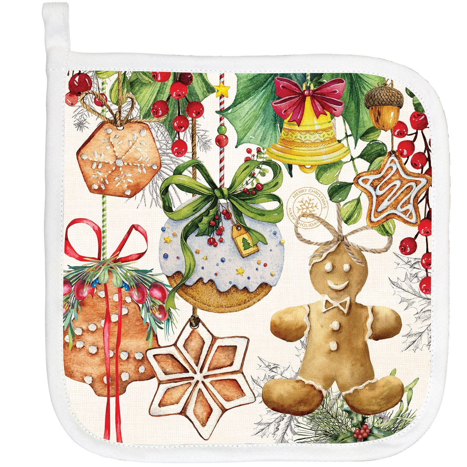 Holiday Treats Potholder