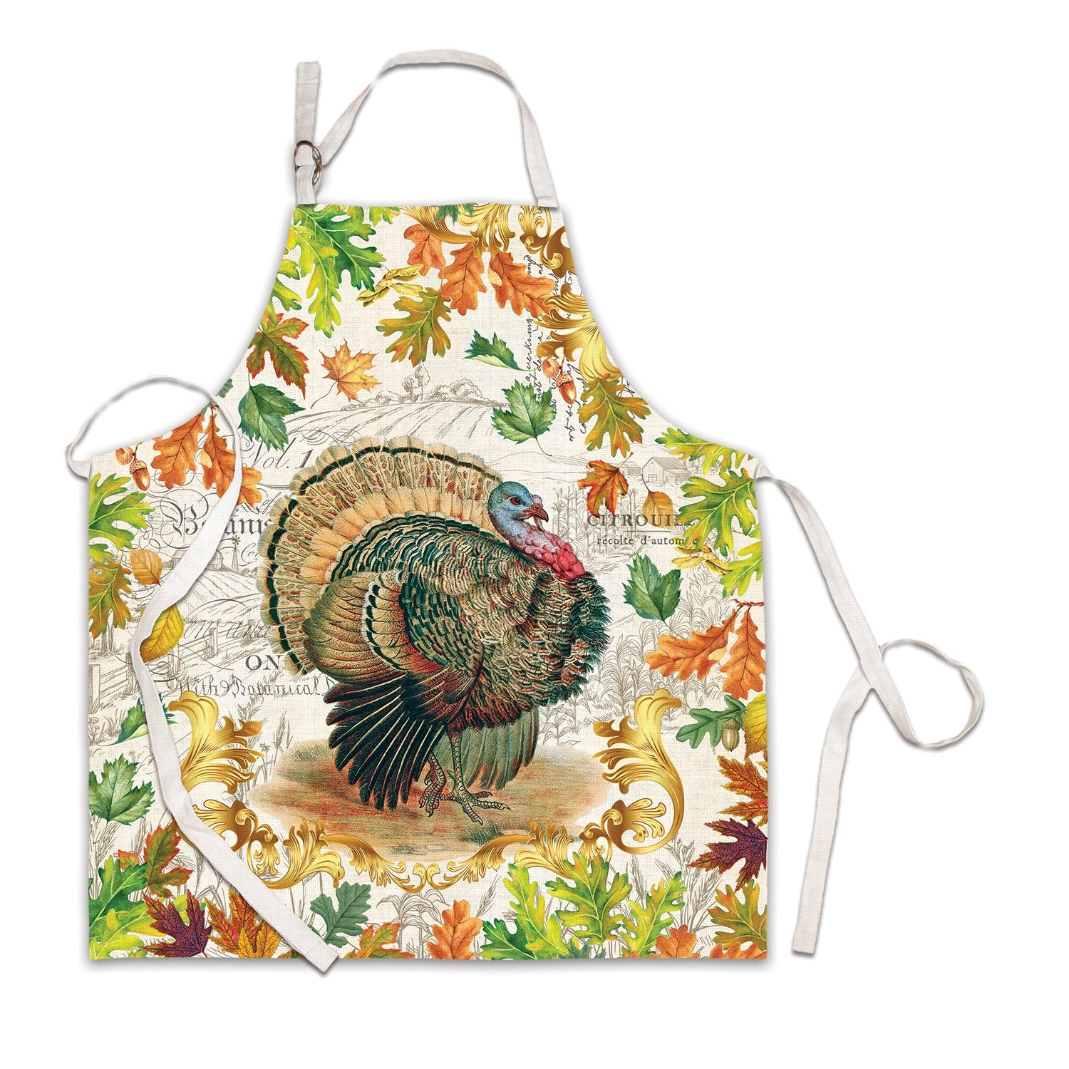 Fall Harvest Turkey Apron