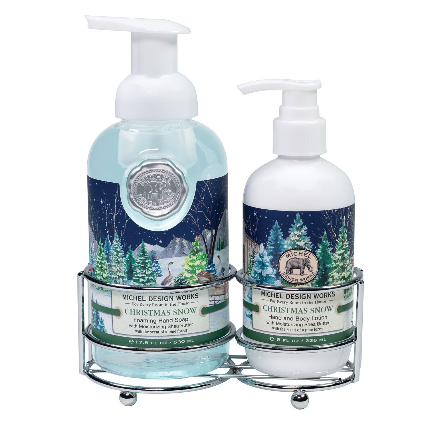 Christmas Snow Handcare Caddy