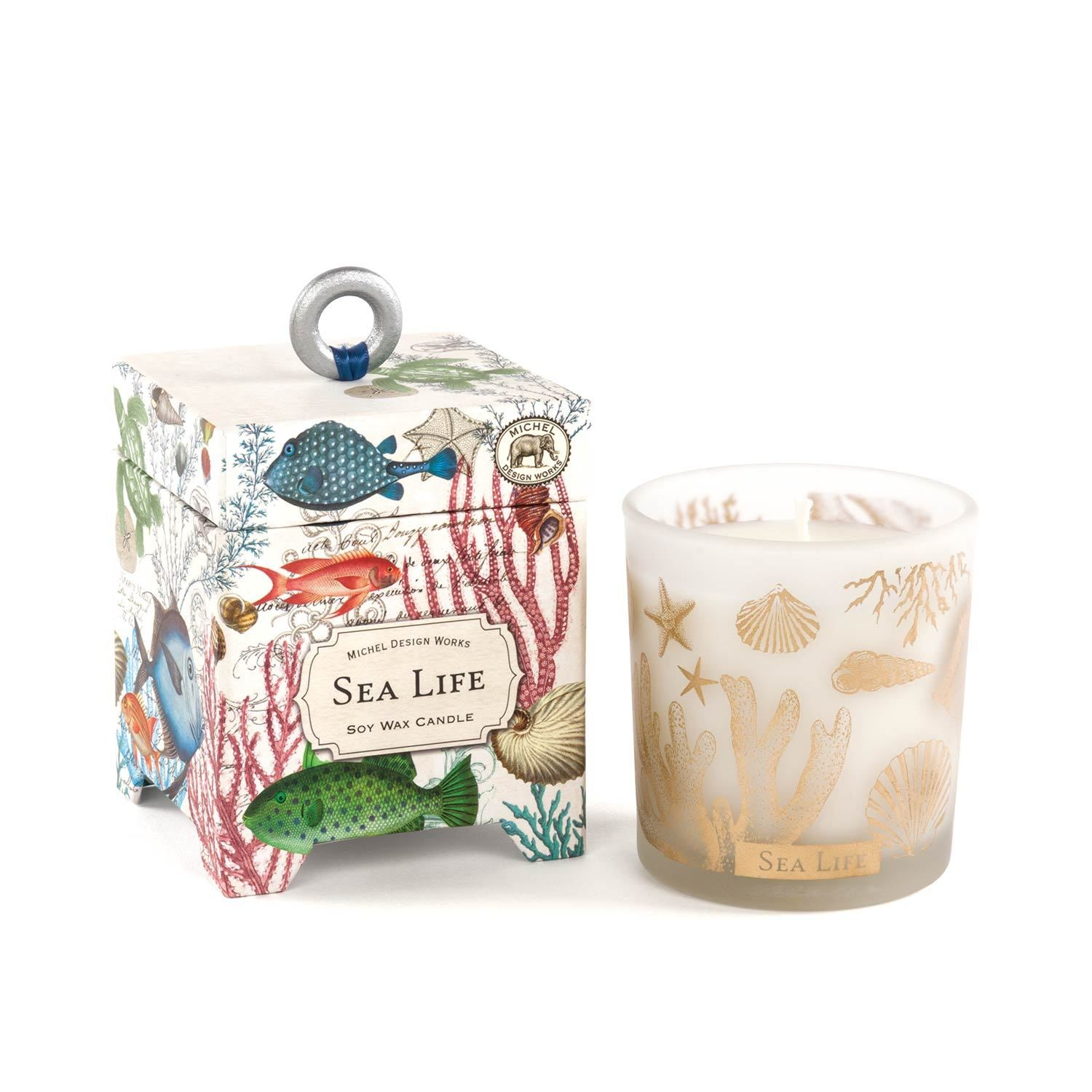 Sea Life 6.5 oz. Soy Wax Candle